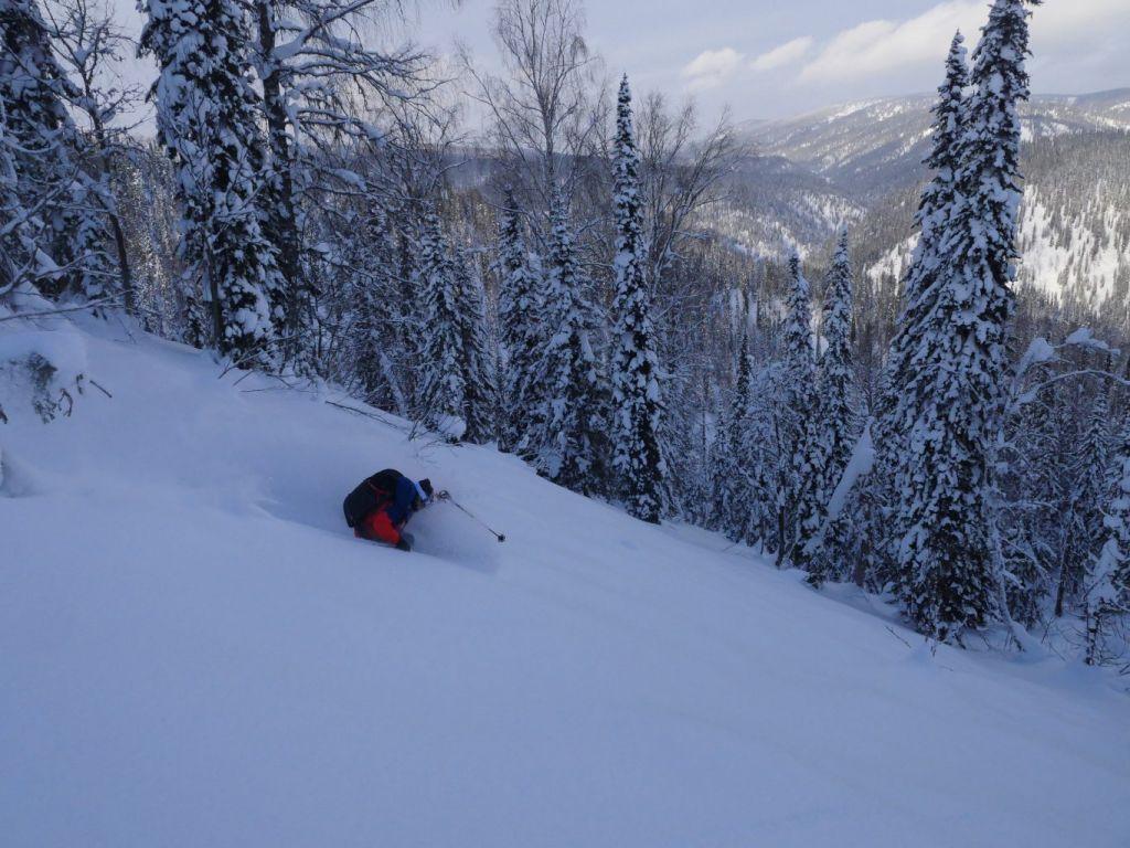 Ski de randonnée Siberie