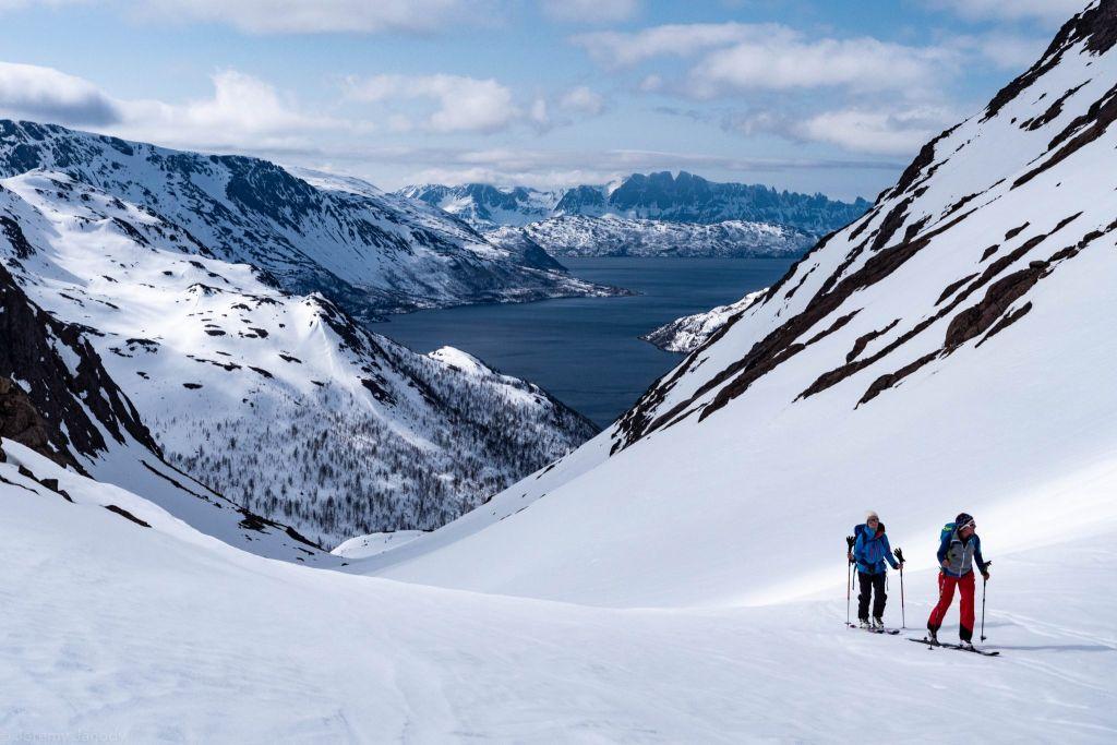 Ski de randonnée en Norvège: Le Finnmark