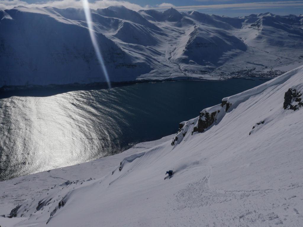Islande ski de pente