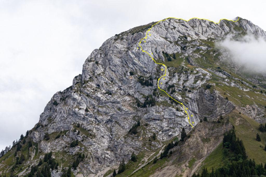 La Tournette (2350m) - Intégrale des Arêtes Nord